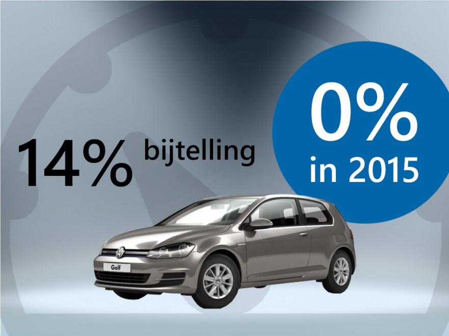 VW Golf 0% bijtelling