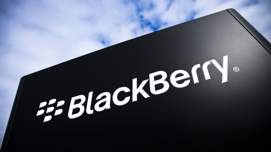 The BlackBerry logo is pictured at the BlackBerry campus in Waterloo September 23, 2013. REUTERS/Mark Blinch (CANADA - Tags: BUSINESS LOGO TELECOMS)