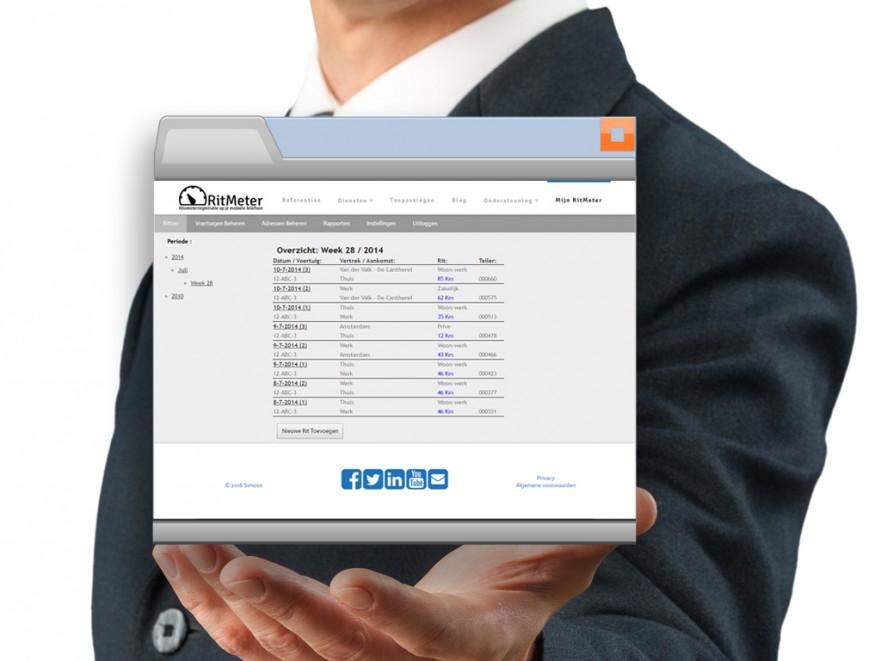 Webportaal van RitMeter is vernieuwd