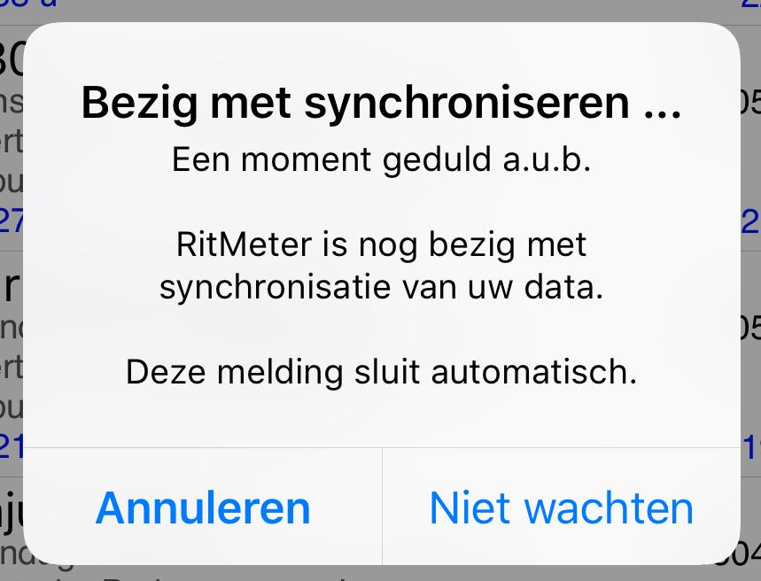 synchronisatie_melding